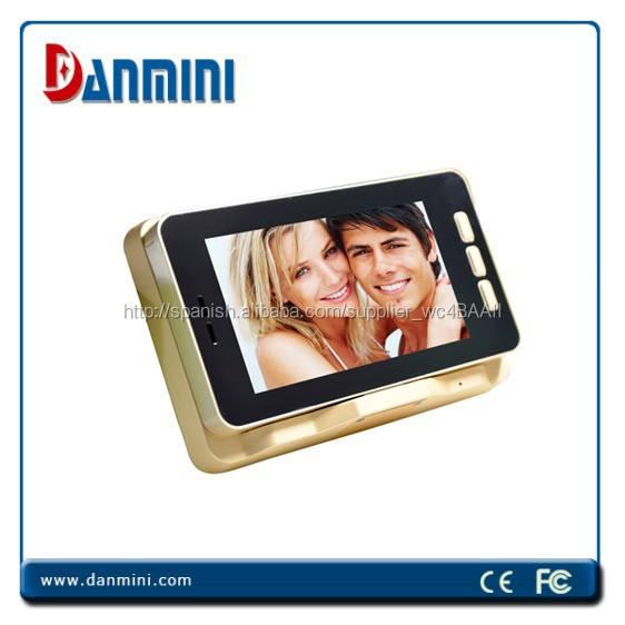 Danimi YB-50HD 5 pulgadas mirilla de la pantalla táctil cámara Digital con visión nocturna