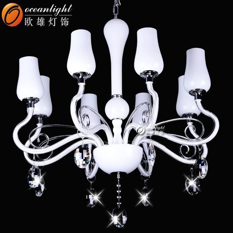 Chiaro lampadario di <span class=keywords><strong>cristallo</strong></span>, lampada a sospensione led modernomg88601-8