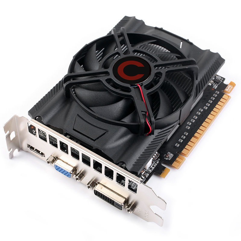High proformance GT730 2gb ddr3 128bit pci-e vga card
