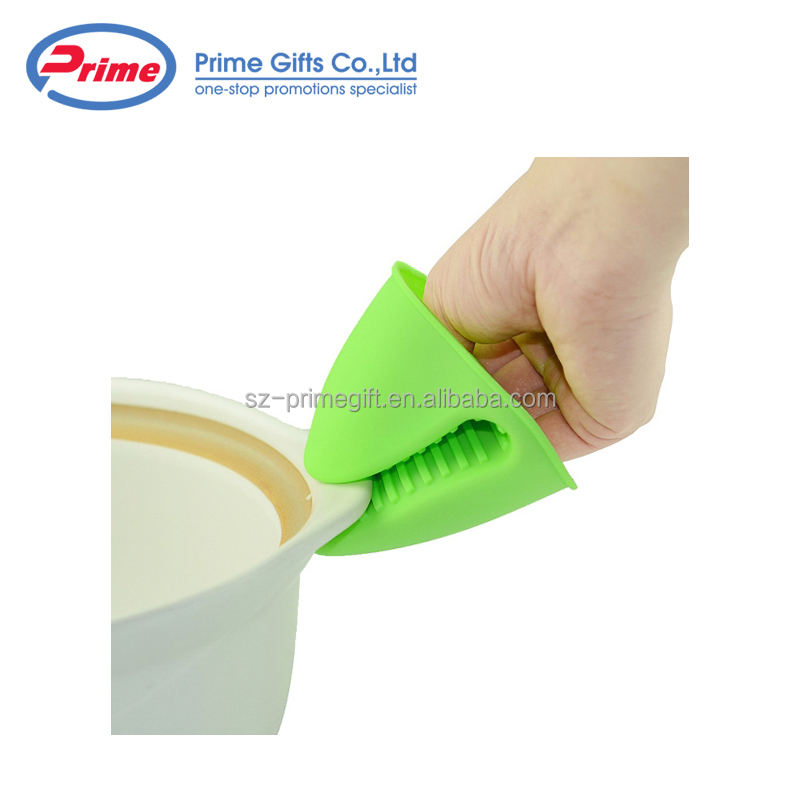 Wholesale Custom Logo Printing Mini Oven Glove Silicone Oven Mitts