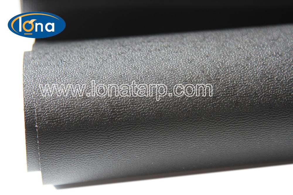 Poliéster material de la bolsa/revestido bolsa de PVC/tela plana impermeable bolso del PVC tela