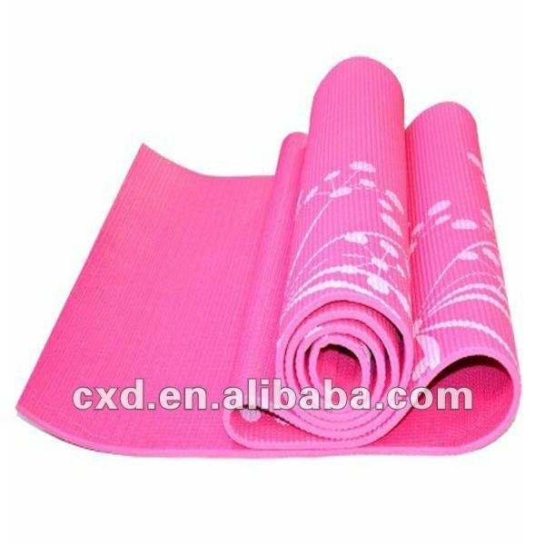 Коврик для йоги, Ева мат. Фитнес-мат. Симпатичный розовый Продукты йоги
