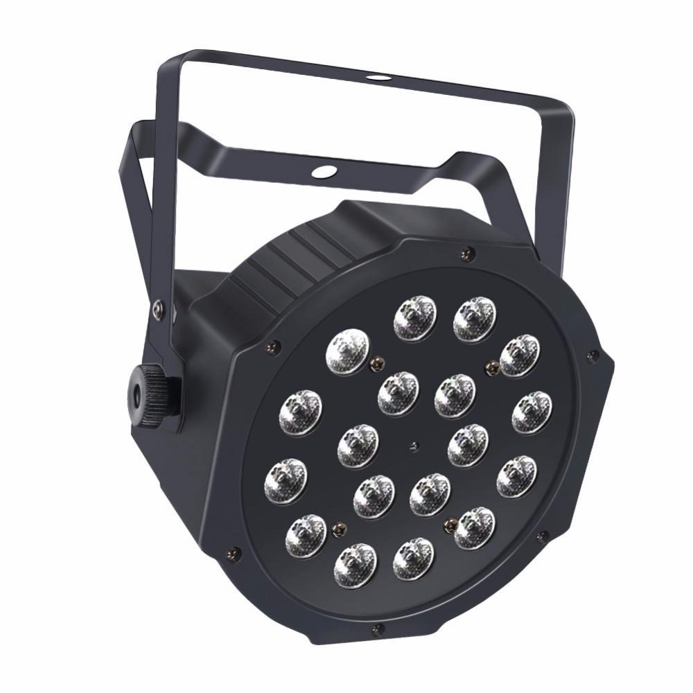 18 LED RGB беспроводной Par свет на батарейках свет этапа с пультом дистанционного управления для DJ этап Освещение