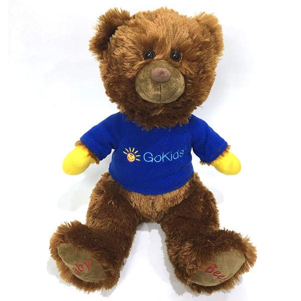 Blue bear bambola peluche, gloomy orso peluche, san valentino orso di peluche