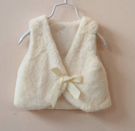 2015 поддельные кролика меховой жилет, мода жилеты для девочек, детские жилеты и жилеты