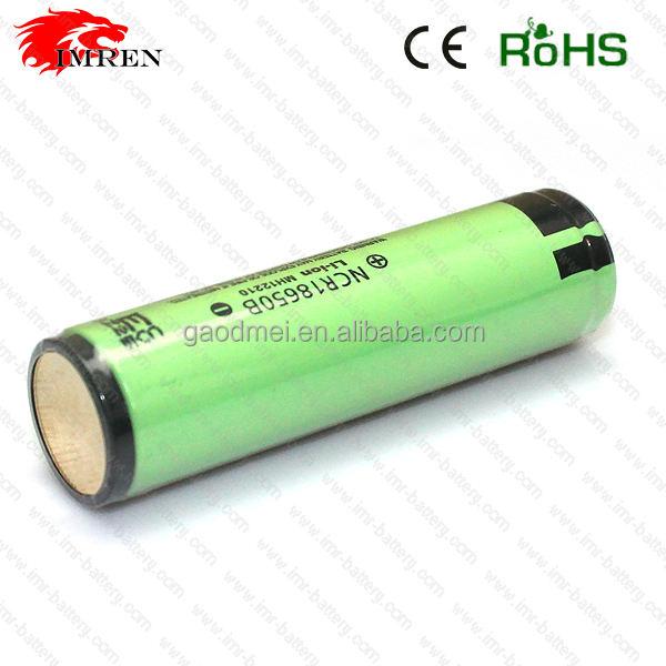 Prezzo basso shopping online per l'alta capacità ricaricabile ncr18650b 3400 mah 18650 3.7 v batteria ricaricabile Li-Ion