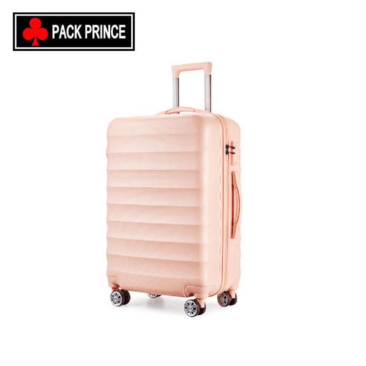 Chine décent voyage personnalisé bagages usine sacs 2 roues alibaba chine abs fermeture à glissière chariot bagages