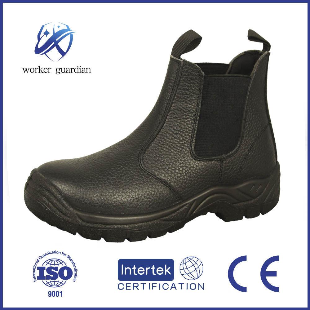 Venda quente de segurança kevlar à prova d' água de salto alto botas com biqueira de aço