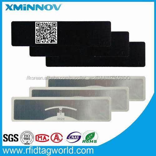 RFID 바람막이 분명 변조 UV 블록 소매 UHF 태그