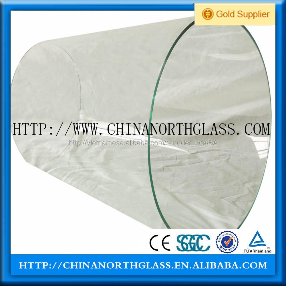 Cong tempered glass cho tường rèm và cầu thang trường hợp