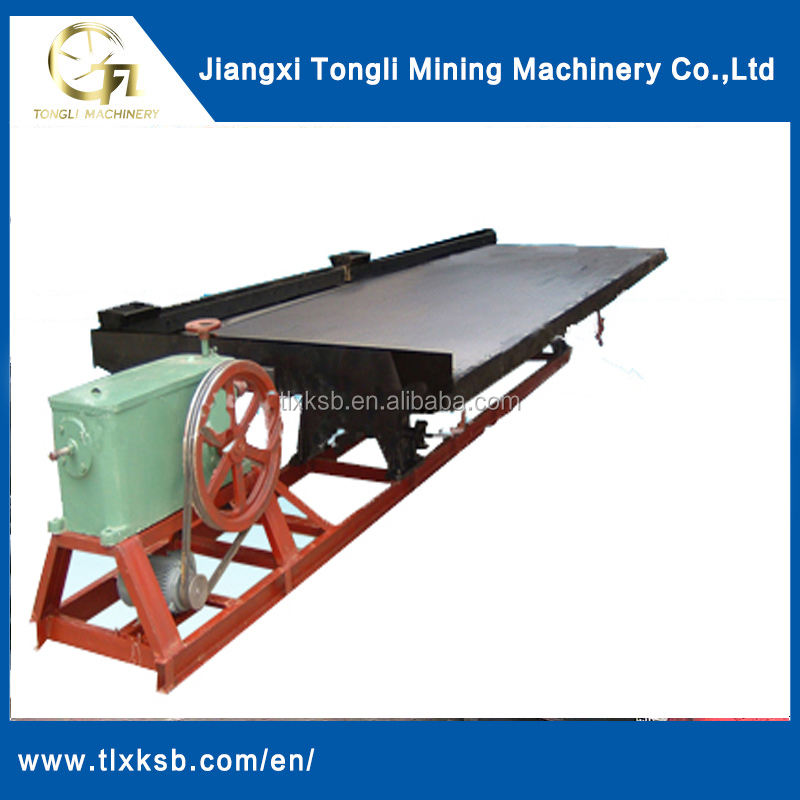 China plata máquina de extracción de 6 s mesa vibradora