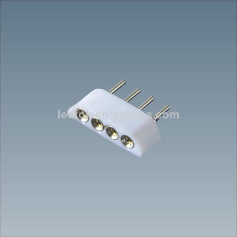 светодиодный rgb 5050 полосы кабельный разъем 10mm 4 пиновый заголовок привело аксессуары