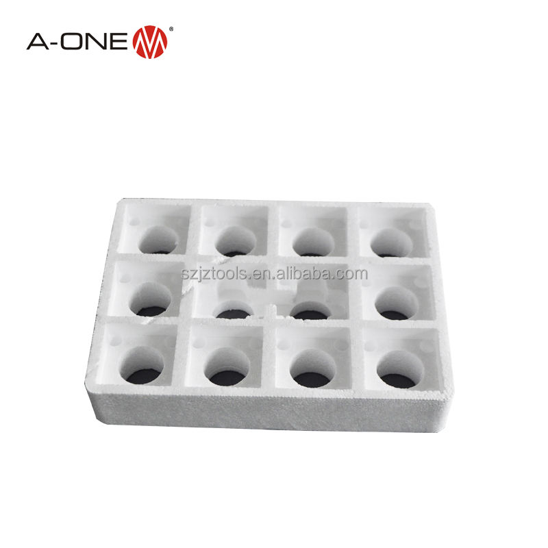 plastic 12-fold styrene box for storage and transport electrode holders