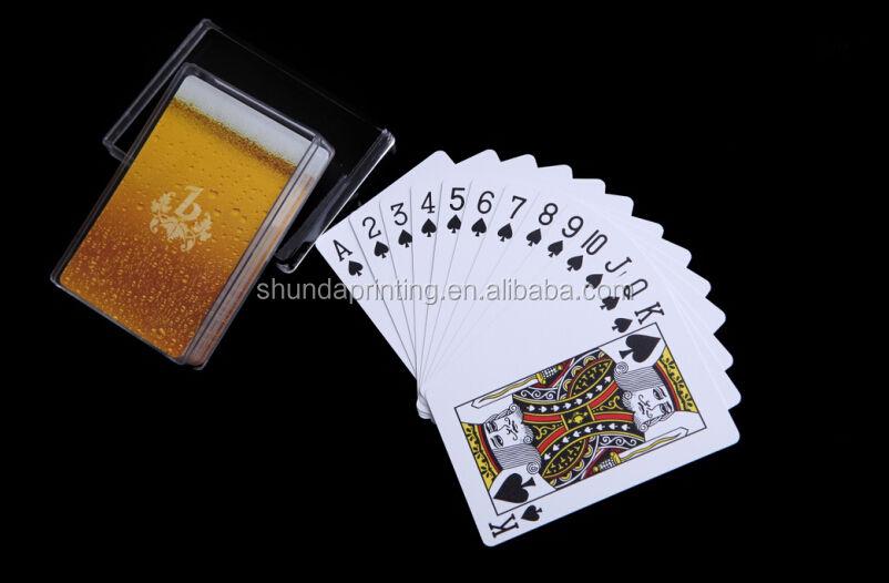 Пользовательские Печатные Пластиковые Игральные Карты, Pepsi серии рекламы покер