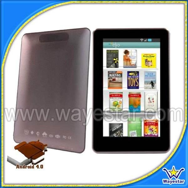 Delgado Androide 4.0 OS 7 Tablet PC Wifi HDMI juego en 3D