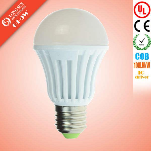 高品質E27 LED電球9ワット