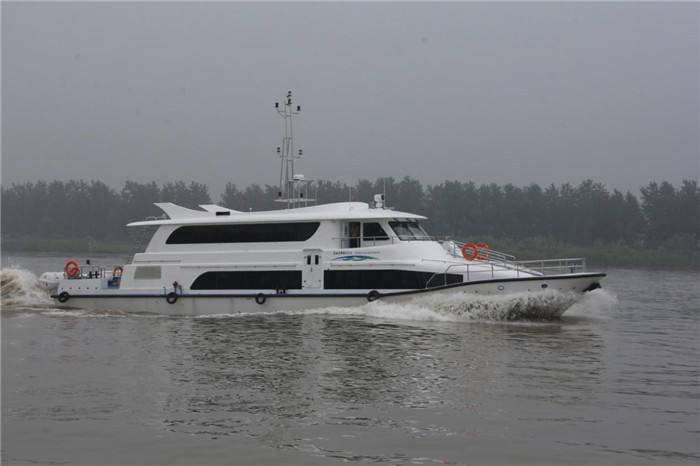 150 asientos de Pasajeros y Transbordadores de Acero Barco/Barco de la Tripulación de Acero para La Venta