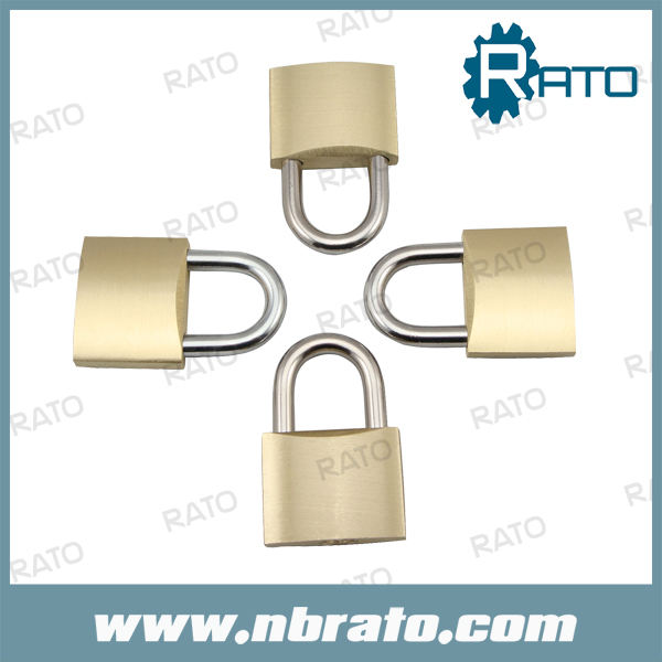 Pesado r-088 pulido de alta calidad de yale 39mm candado de latón