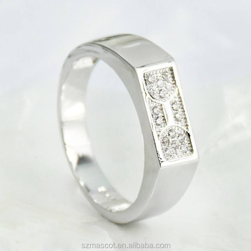Diseño simple specialized nepal anillos de plata anillos de la joyería