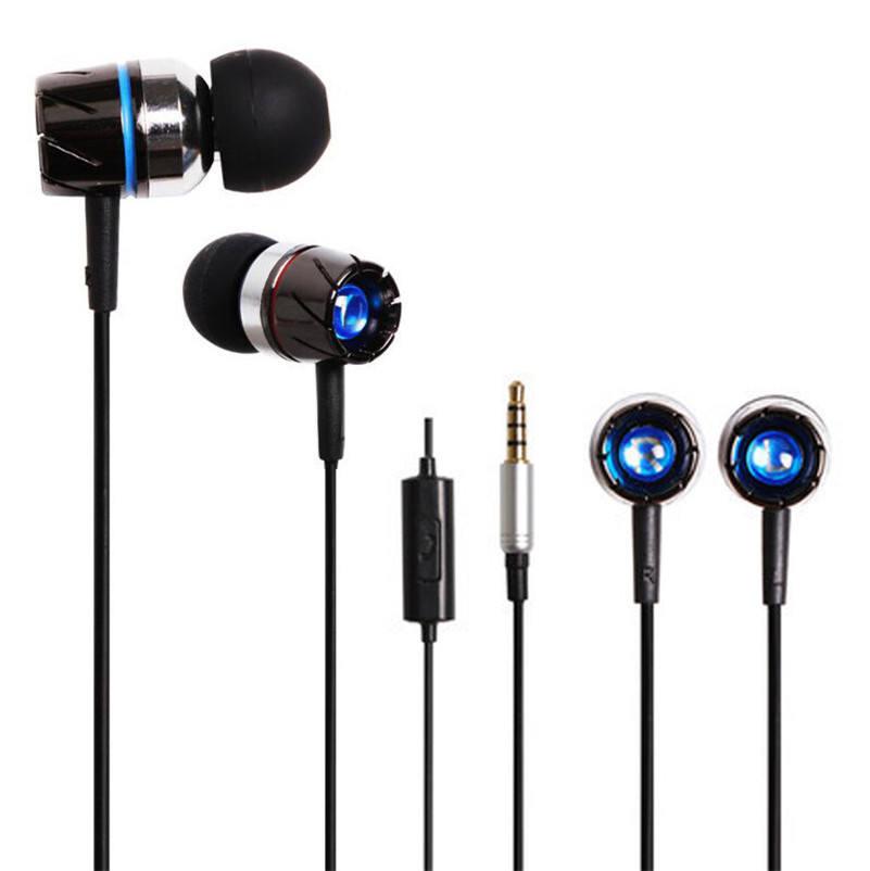 Neue 3,5mm Super Bass Stereo In-ear-ohrhörer Kopfhörer Headset Für Tablet MP3 Für iphone Freeshipping Wholesale &