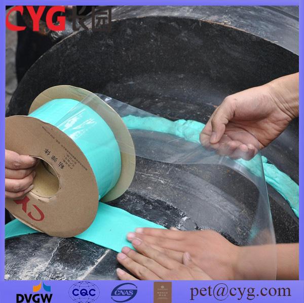 Вязко-упругих wrappingband