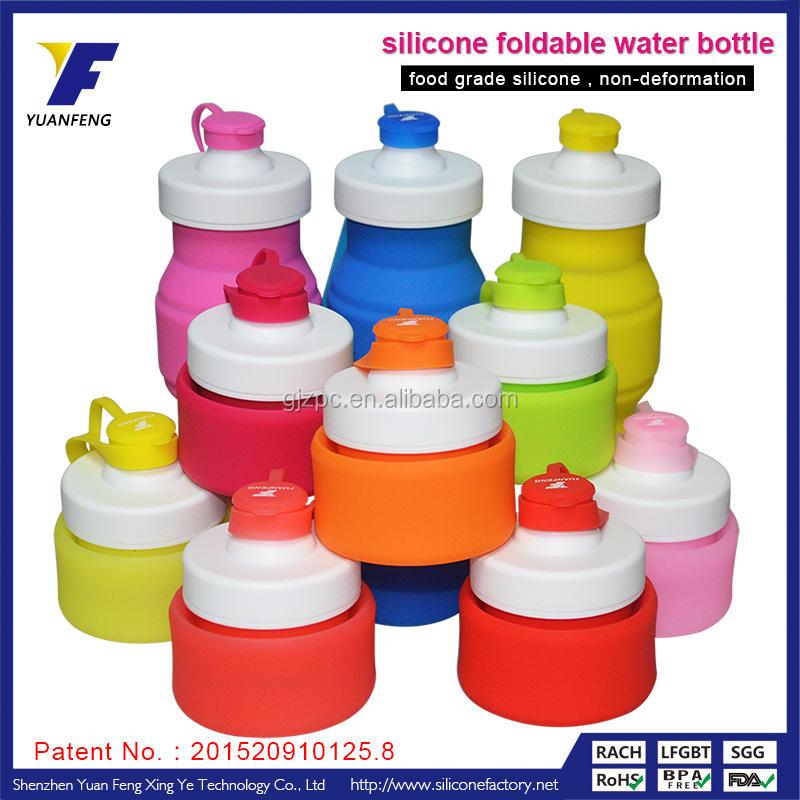 antibakteriellen silikon falten flexible <span class=keywords><strong>camelback</strong></span> Sportfahrwerk wasserflaschen
