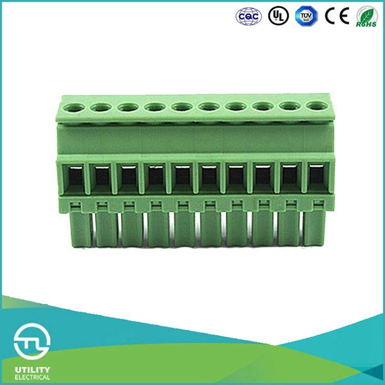 UTL 시장성 제품 베이클라이트 Pcb 터미널 커넥터 블록 0.08-1.5mm2/0.08-1.5mm2