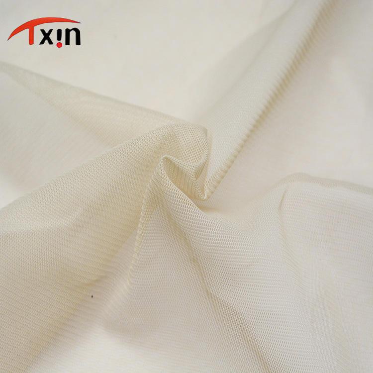 نسيج حقيرة قماش بوليستر 4 طريق حبك إمتداد شبكة بناء لعرس ثوب
