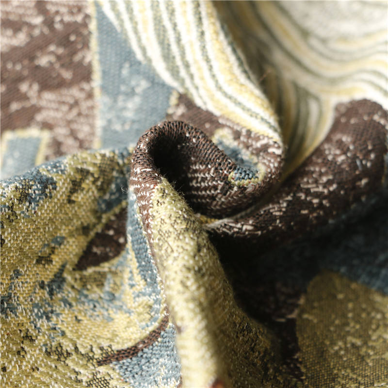 2021 Widely Usage Home Textile Modern Cheap Jacquard Sofa Upholstery Fabric