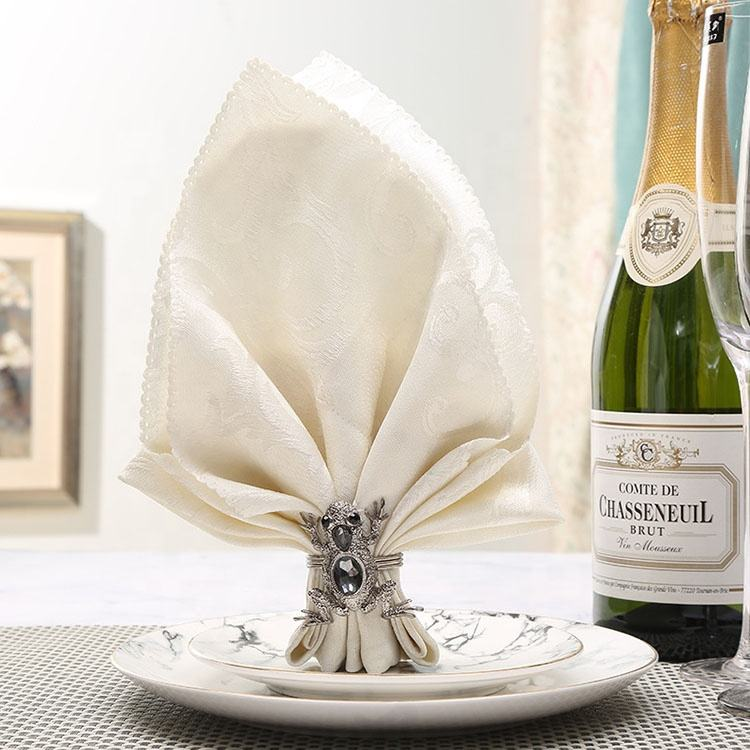 Métal Décoration <span class=keywords><strong>De</strong></span> Table <span class=keywords><strong>De</strong></span> Mariage Boucle Animal Grenouille Anneau <span class=keywords><strong>de</strong></span> <span class=keywords><strong>Serviette</strong></span>