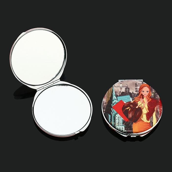 Красочные приятный нежный мультфильм девушка логотип хорошо <span class=keywords><strong>код</strong></span> популярные <span class=keywords><strong>зеркало</strong></span> для подарка