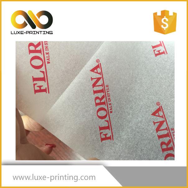 Gros 14gsm 17gsm matière première papier de soie pour chaussures emballages
