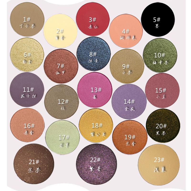 Los cosméticos de gama alta brillan el sujetador mineral de la sombra del polvo para la sombra de ojos de la vida cotidiana