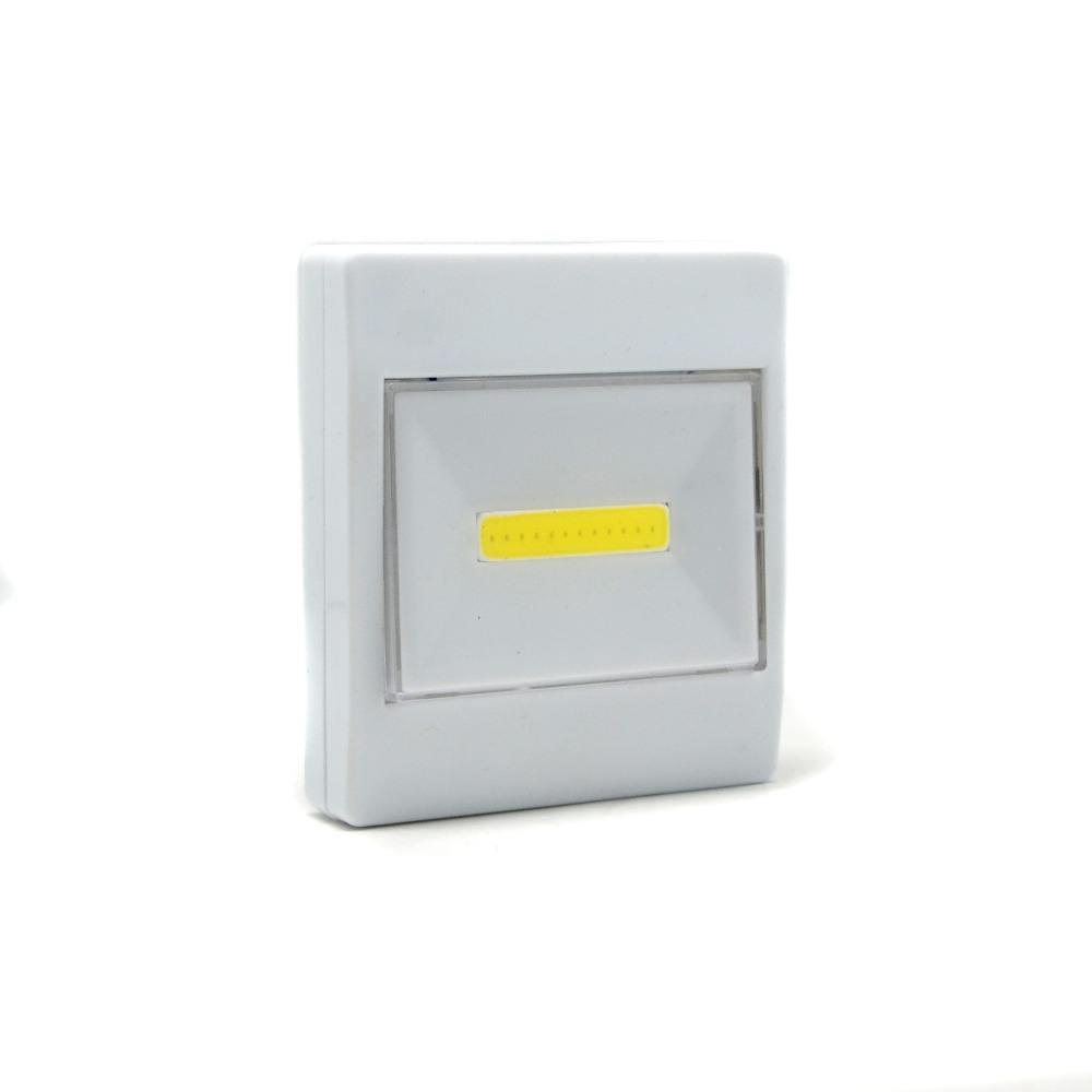 Al aire libre LED camping portátil magnética adjunta LED interruptor de luz, interruptor de pared con indicador LED