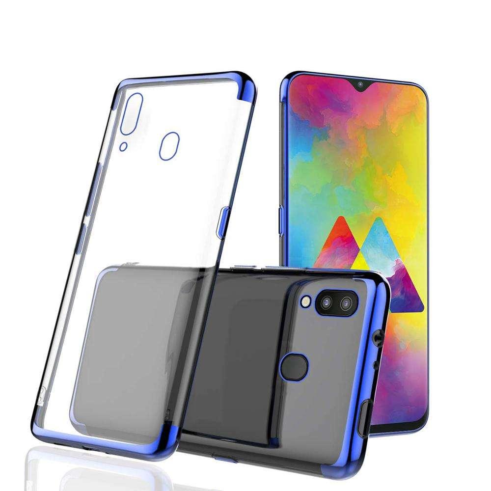 Ultra Slim Soft Silicone 판을 전기 TPU Clear 폰 Cover Case 대 한 Samsung Galaxy A30 A50