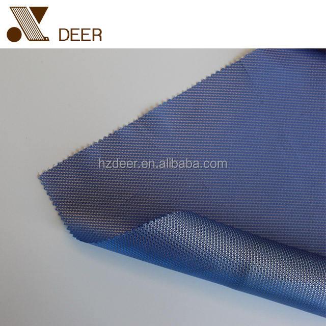 Hermosa luz azul dobby tejido utilizado para material de revestimiento