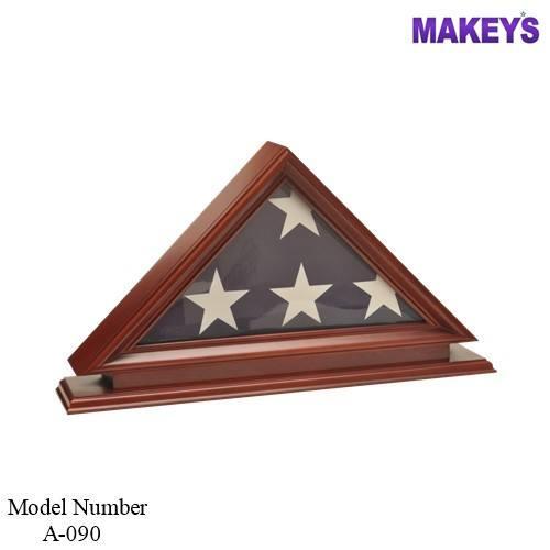 Mky военные древесины флаг случаях