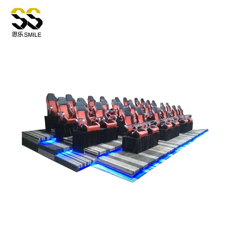 Rotación de 720 grados Realidad Virtual equipo 5d Simulador de movimiento móvil 5d Cine en 5d teatro