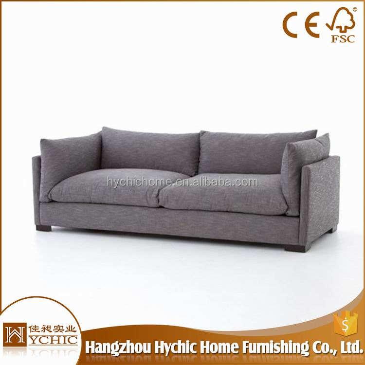 China, Oferta Fabricante tela establece púrpura sofá de madera muebles