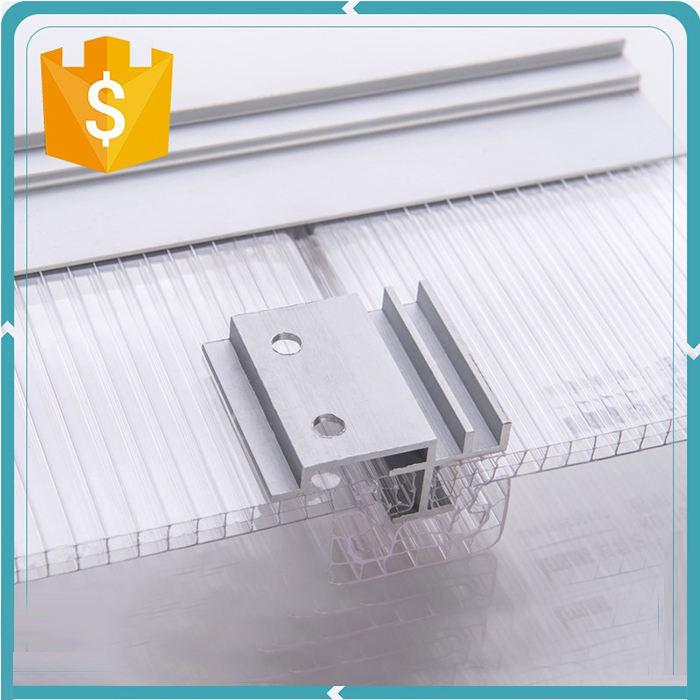 Индивидуальные U-lock декоративные сарай 10 мм поликарбонатный лист