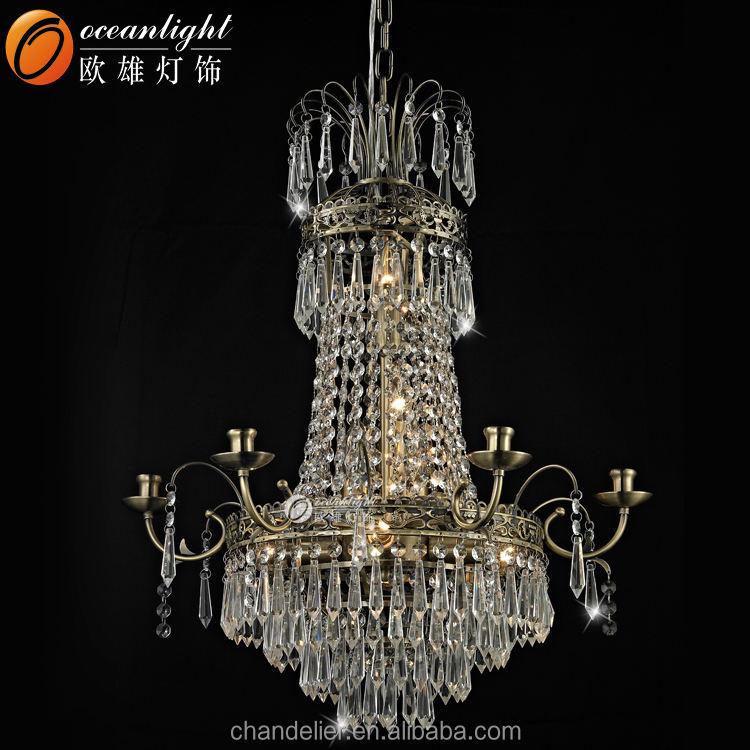 Piano casa lobby k9 lampadario di <span class=keywords><strong>cristallo</strong></span> di luce villa scale apparecchio di illuminazione om81091(7)