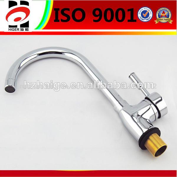 brass hot galvanized kitchen faucet