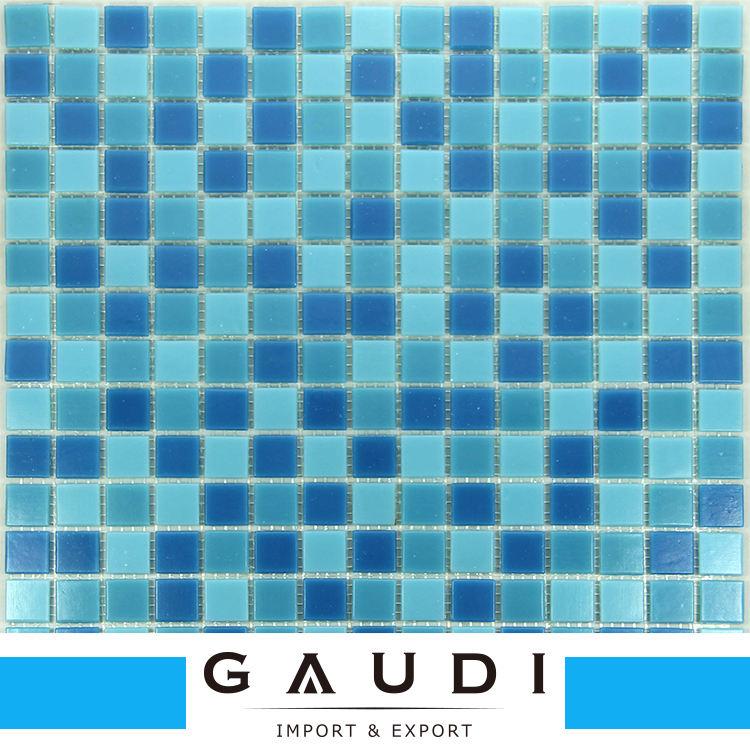 Fazer o trabalho manual é delicado anti-slip mosaico de vidro