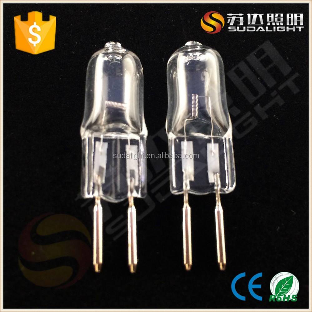 Ce-zertifizierung und porcelai material g5.3 halogenlampe 6v 5w