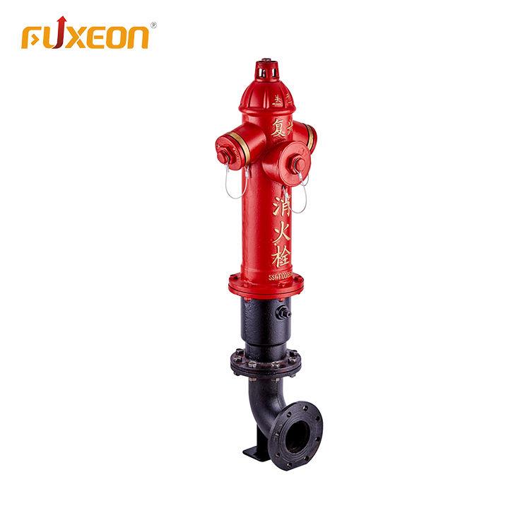 Профессиональные фланец тип посадки клапан Двойной выход 2-способ столп пожарный гидрант