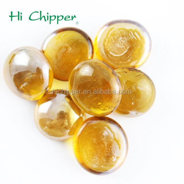 <span class=keywords><strong>Желтый</strong></span> декоративное стекло галечный камни для костра