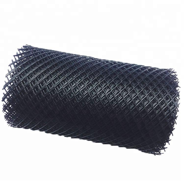 Fabricante de plástico HDPE malla cuadrada red plana