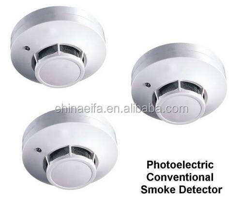 Высокая чувствительность курить обычные дымовой извещатель пожарной сигнализации