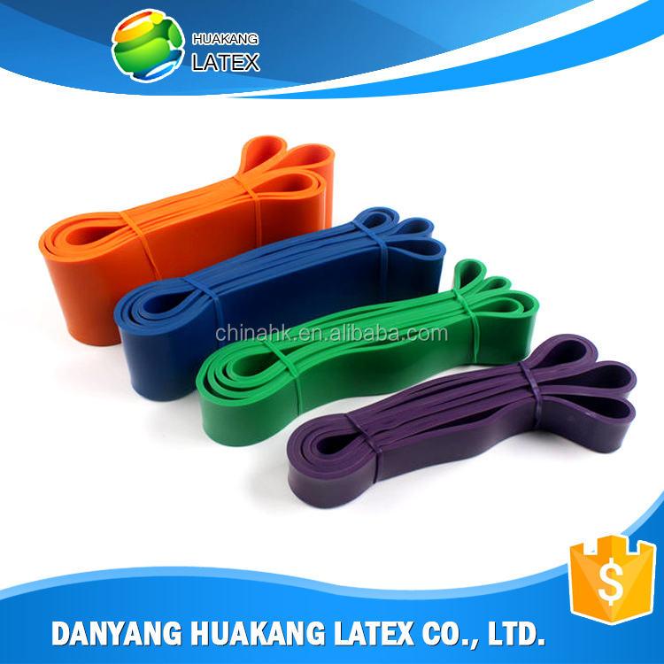 Nouveaux produits sur le marché chinois 65 cm gym ball avec bande de résistance