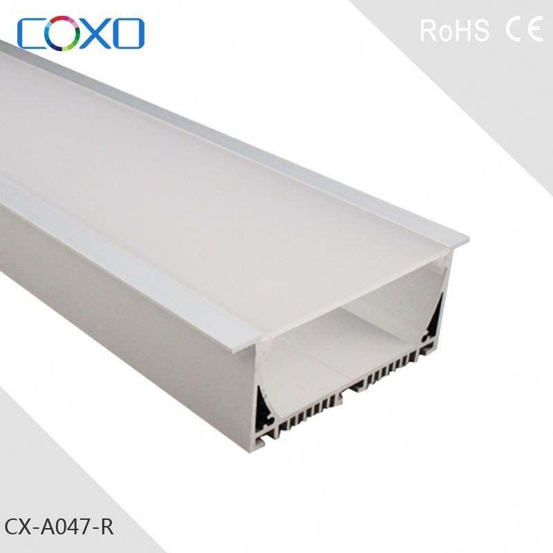 Perfil de extrusão de alumínio para moldura do painel solar